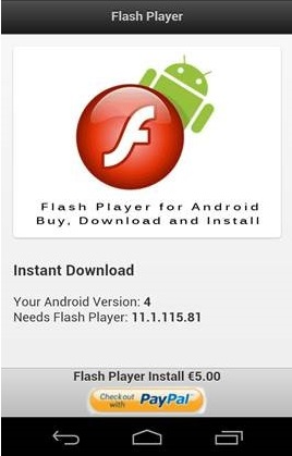 Trojan:Android/FakeFlash C Description | F-Secure Labs