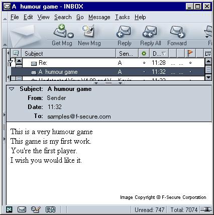 Worm W32 Klez Description F Secure Labs