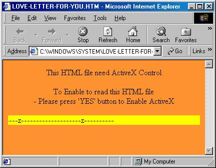 Email Worm:VBS/LoveLetter Description | F Secure Labs