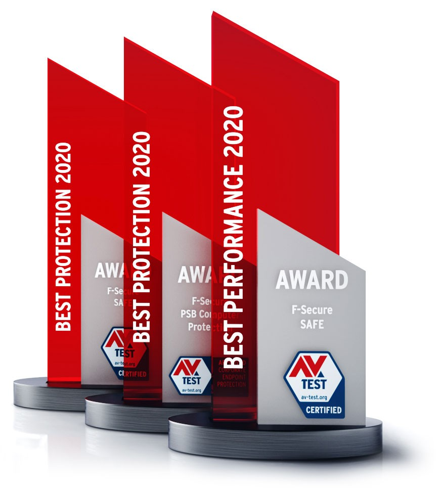F-Secure wins AV-TEST Best Protection and Best Performance Awards